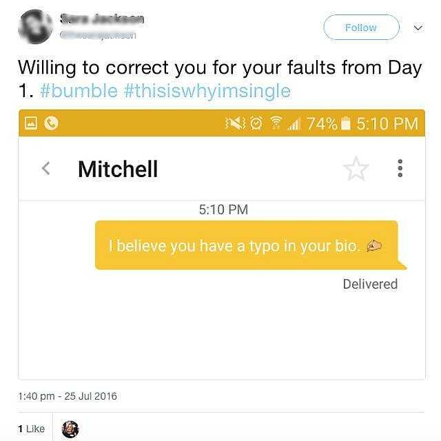 No one responds on bumble