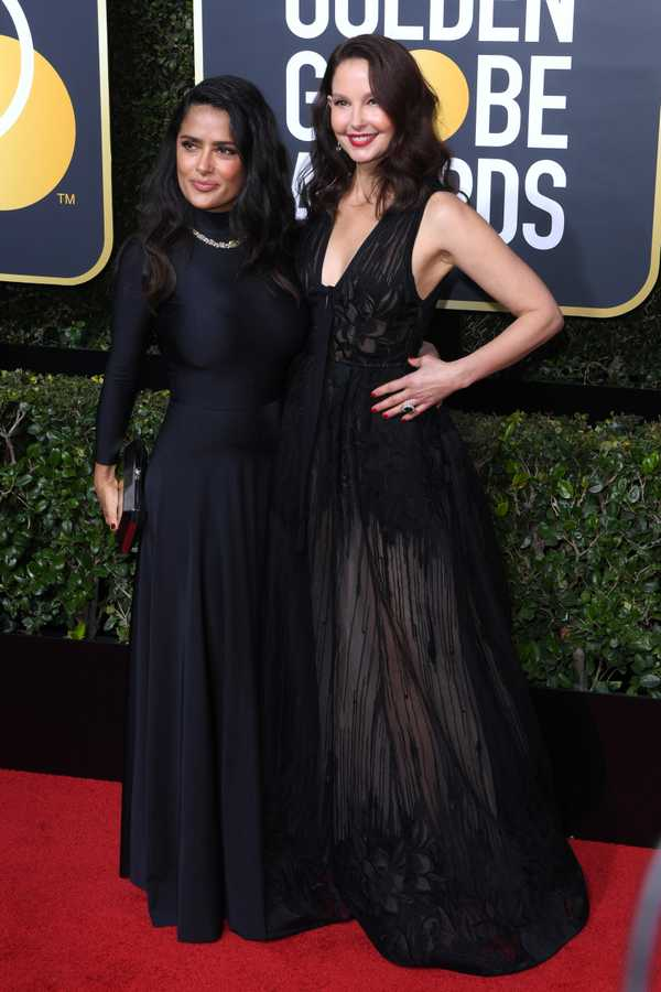 Salma Hayek and Ashley Judd
