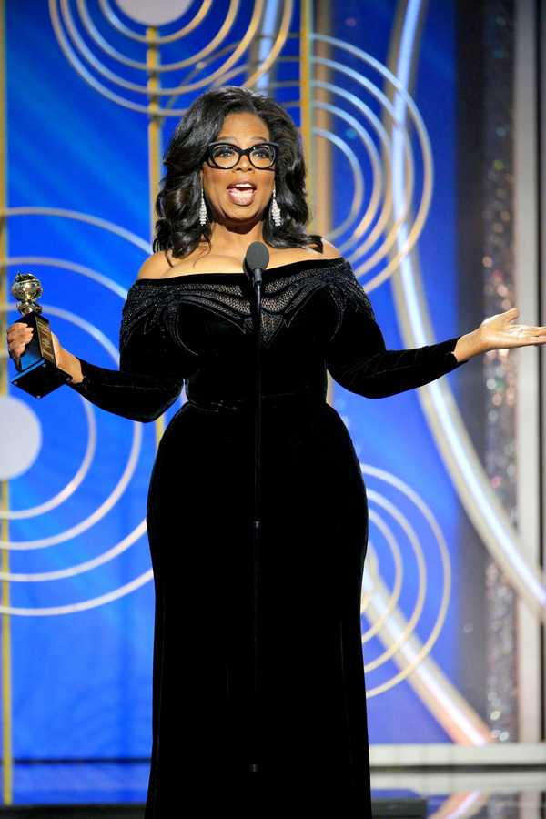 Oprah speech Golden Globes