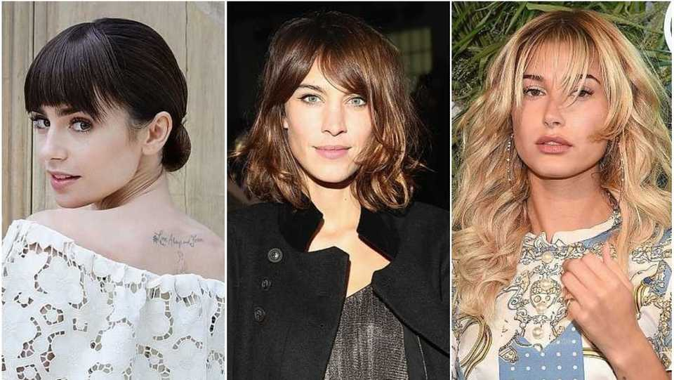 Celebrities With Bangs 49 A List Styles To Inspire Your Next
