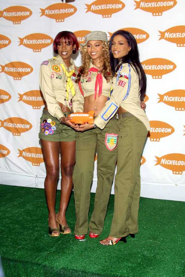 Destiny's Child Outfits