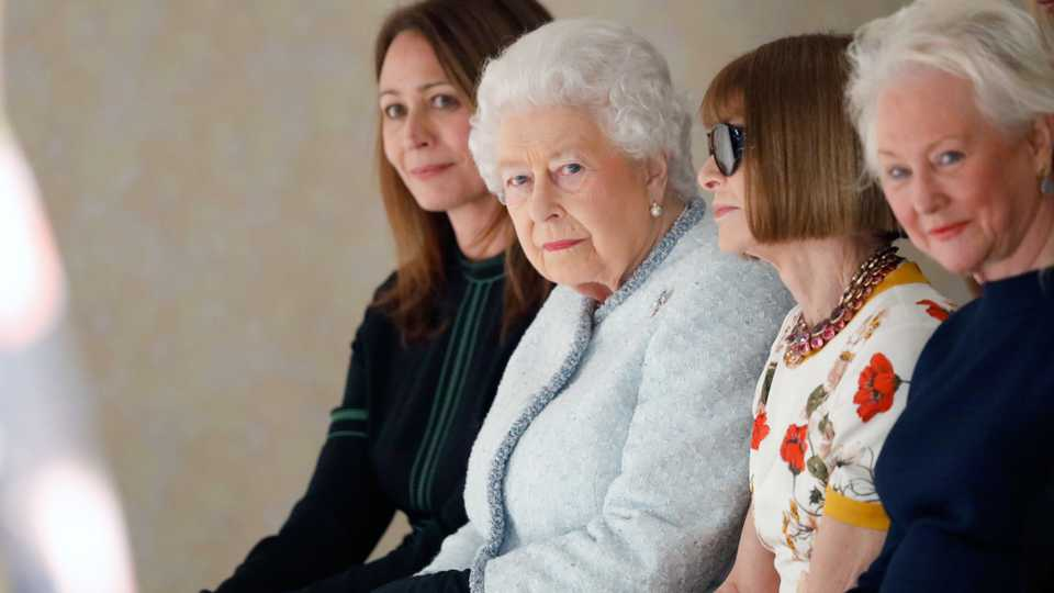 who is angela kelly the queen s wing woman at london fashion week