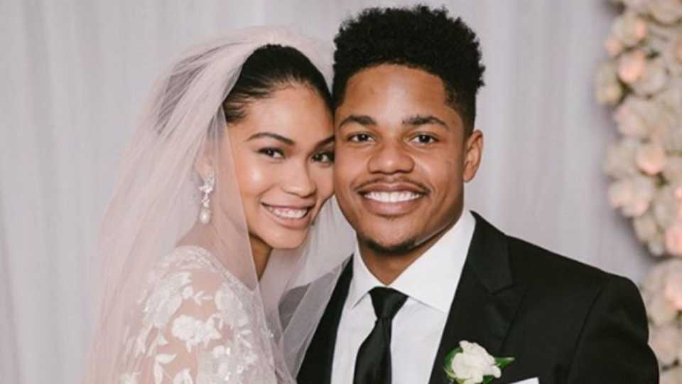 bf311aa8a90 You Have To See Chanel Iman s Wedding Dress