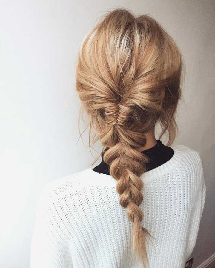 The Fishtail Plait Step By Step Instructions And All The Inspo You