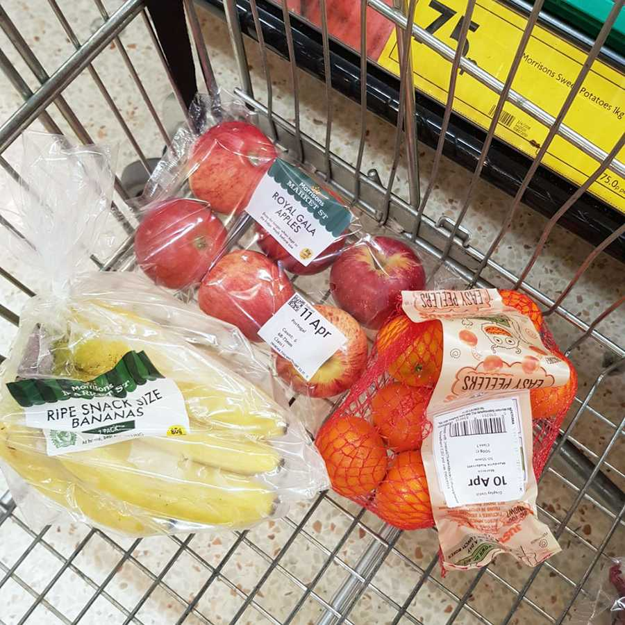 how to compile a healthy shopping list on a budget for one grazia