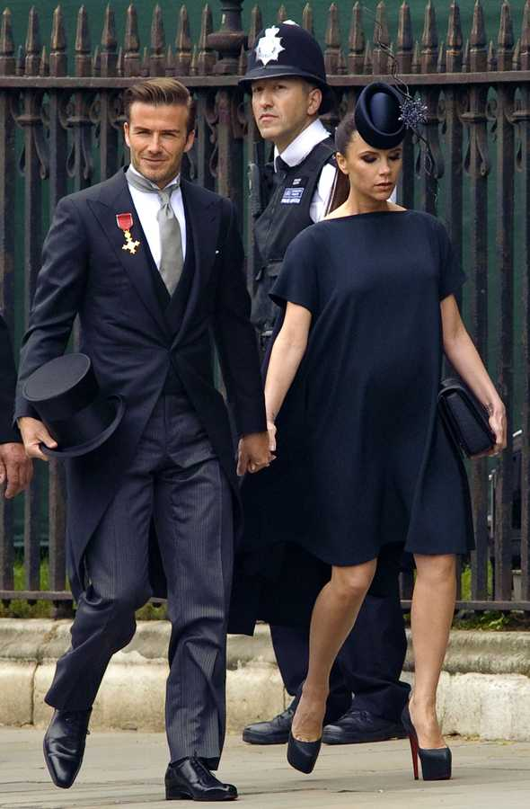 royal wedding beckhams