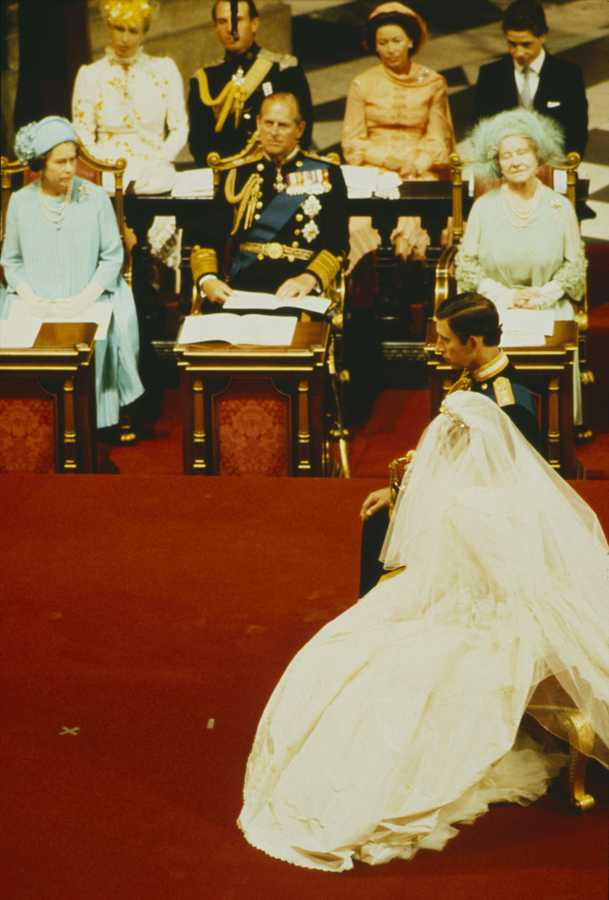 princess diana prince charles wedding