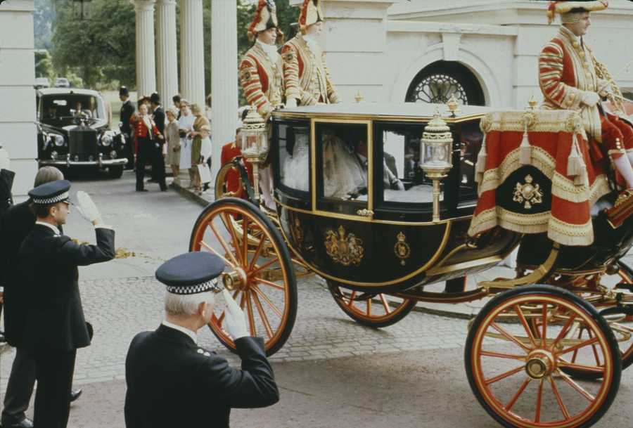 princess diana wedding carriage