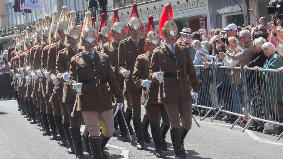 Posh Hunger Games? Cavalry Fight It Out To Be Part Of Royal Wedding