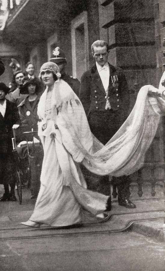 queen mother wedding