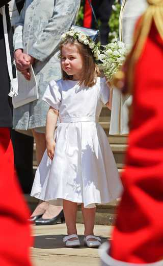 The Sweet Detail You Missed From Prince George And Princess Charlotte's Wedding Outfits