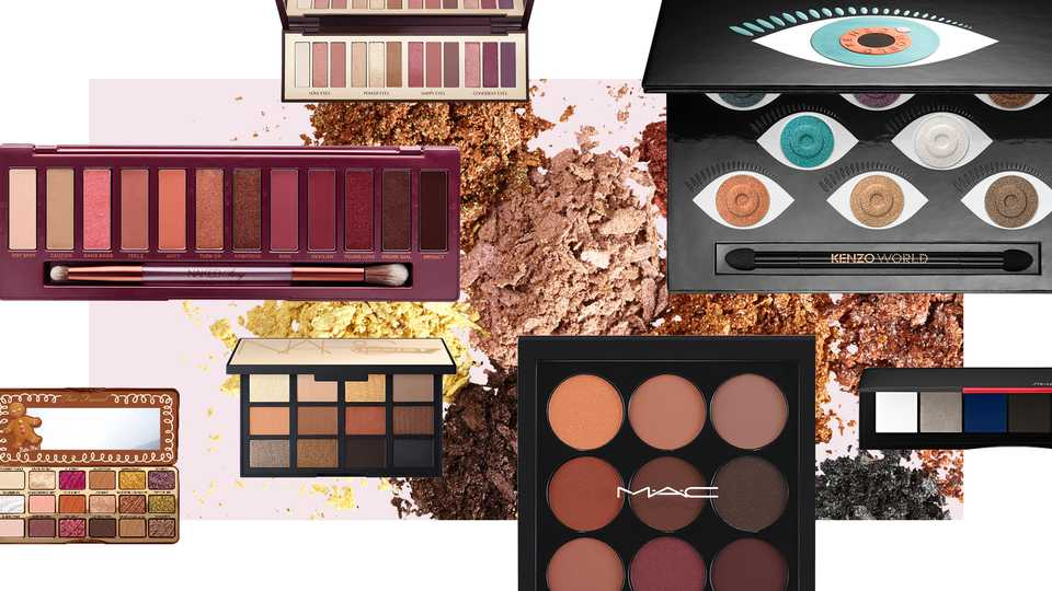 The Best Eyeshadow Palettes For Autumn/Winter