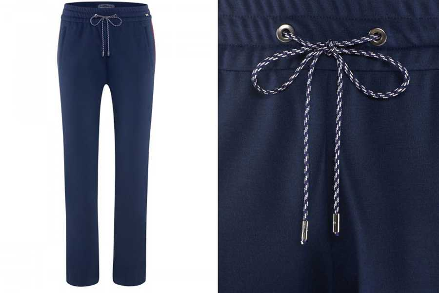 Thursday - Airfield Blue Trousers With Drawcord, £213