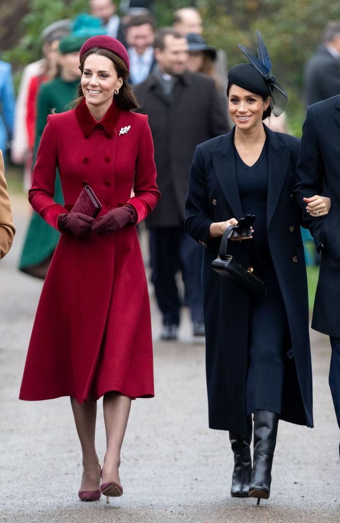 No frostiness for Meghan Markle, Kate Middleton on Christmas