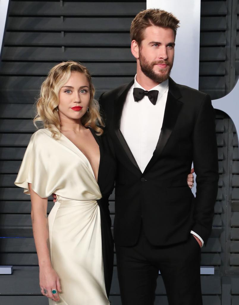 Miley Cyrus and Liam Hemsworth Wednesday  in secret ceremony