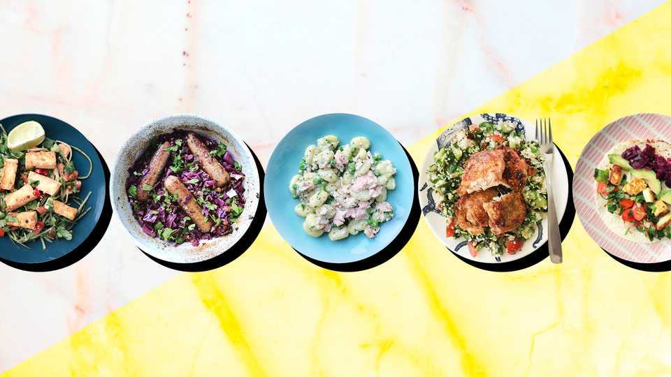 5 Meals, 5 Nights, No Waste: 'Halloumi And Tacos Shouldn't Go Together, But We've Decided They Do Now'