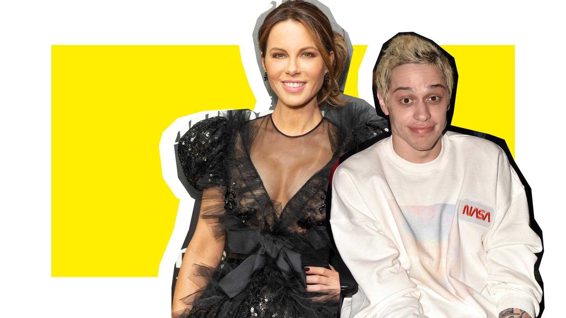 Pete Davidson And Kate Beckinsale Kissing Pics Pretty Much Confirm They're Dating